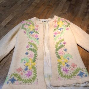 Vintage Vic & Vic Haute Couture Wool Sweater